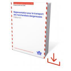 IATA DGR 2020 Edition 61 Französisch Software Windows (9675-61)