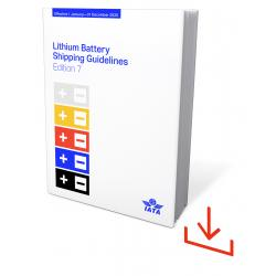 IATA Lithium Battery Shipping Guidelines 2020 Windows Software (9678-61)