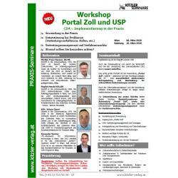 Workshop Portal Zoll und USP