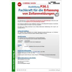 LG zur Fachkraft für die Erfassungen von Zollanmeldungen P36.1