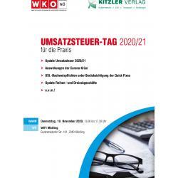 Umsatzsteuer-Tag 2020/21 für die Praxis