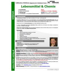 Webinar Lebensmittel und Chemie