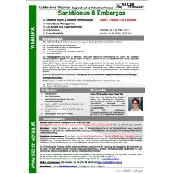 Webinar Sanktionen & Embargos