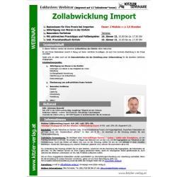 Webinar Zollabwicklung im Import