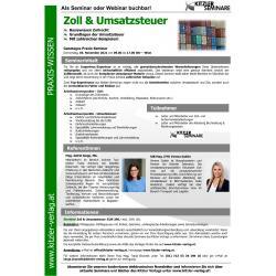 Zoll & Umsatzsteuer